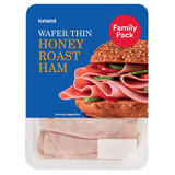 Iceland Wafer Thin Honey Roast Ham 400g