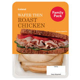 Iceland Wafer Thin Roast Chicken 350g