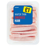 Iceland Wafer Thin Smoked Ham 160g
