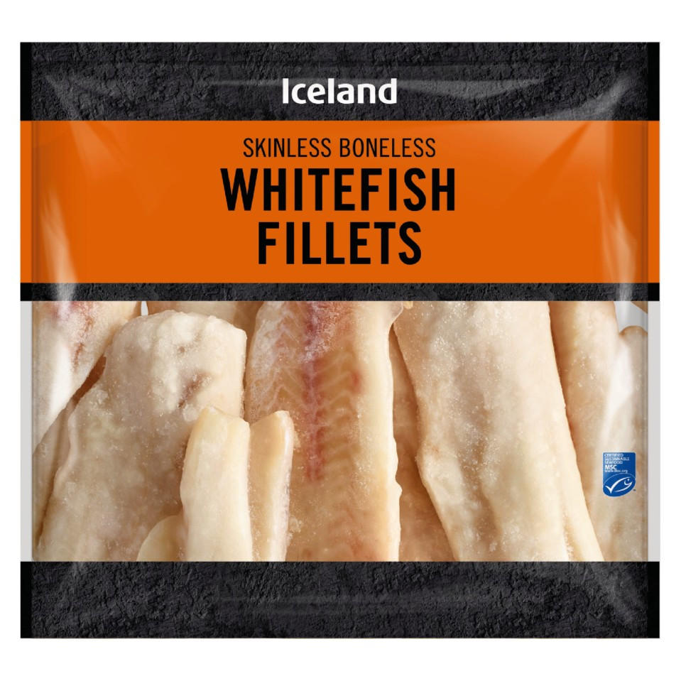 Iceland Whitefish Fillets 700g Fish Fillets Iceland Foods