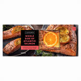Iceland Whole Side of Atlantic Salmon 600g