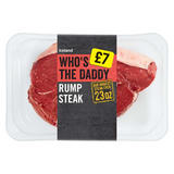 Iceland Who's the Daddy Rump Steak 652g