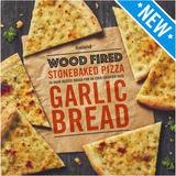 Iceland Wood Fired Stonebaked Pizza Garlic Bread 220g