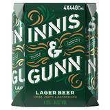 Innis & Gunn Lager Beer 4 x 440ml