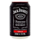 Jack Daniel's Whiskey & Cola 330ml Can