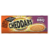Jacob's Baked Cheddars Cheese Biscuits Smoky BBQ Flavour 150g