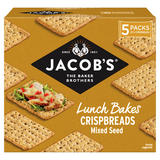 Jacob's Lunch Bakes Mix Seed Crispbreads 190g