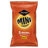 Jacob's Mini Cheddars Original 5 Pack 125g