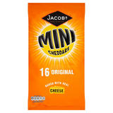 Jacob's Mini Cheddars Original Cheese Snacks 16 Pack 400g
