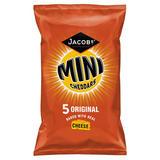 Jacob's Mini Cheddars Original Cheese Snacks 5 Pack 125g