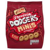 Jammie Dodgers Minis Raspberry Flavour 6 x 20g (120g)