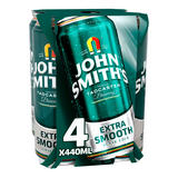 John Smith's Extra Smooth Ale 4 x 440ml Cans