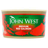 John West Medium Red Salmon 213g