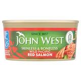 John West Skinless & Boneless Wild Pacific Red Salmon 170g