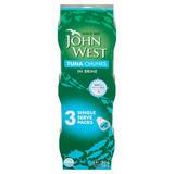John West Tuna Chunks in Brine 3 x 80g