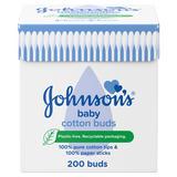 JOHNSON'S® Baby Cotton Buds 200 Buds