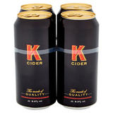 K Cider 4 x 440ml