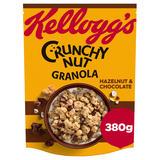 Kellogg's Crunchy Nut Hazelnut & Chocolate Granola 380g