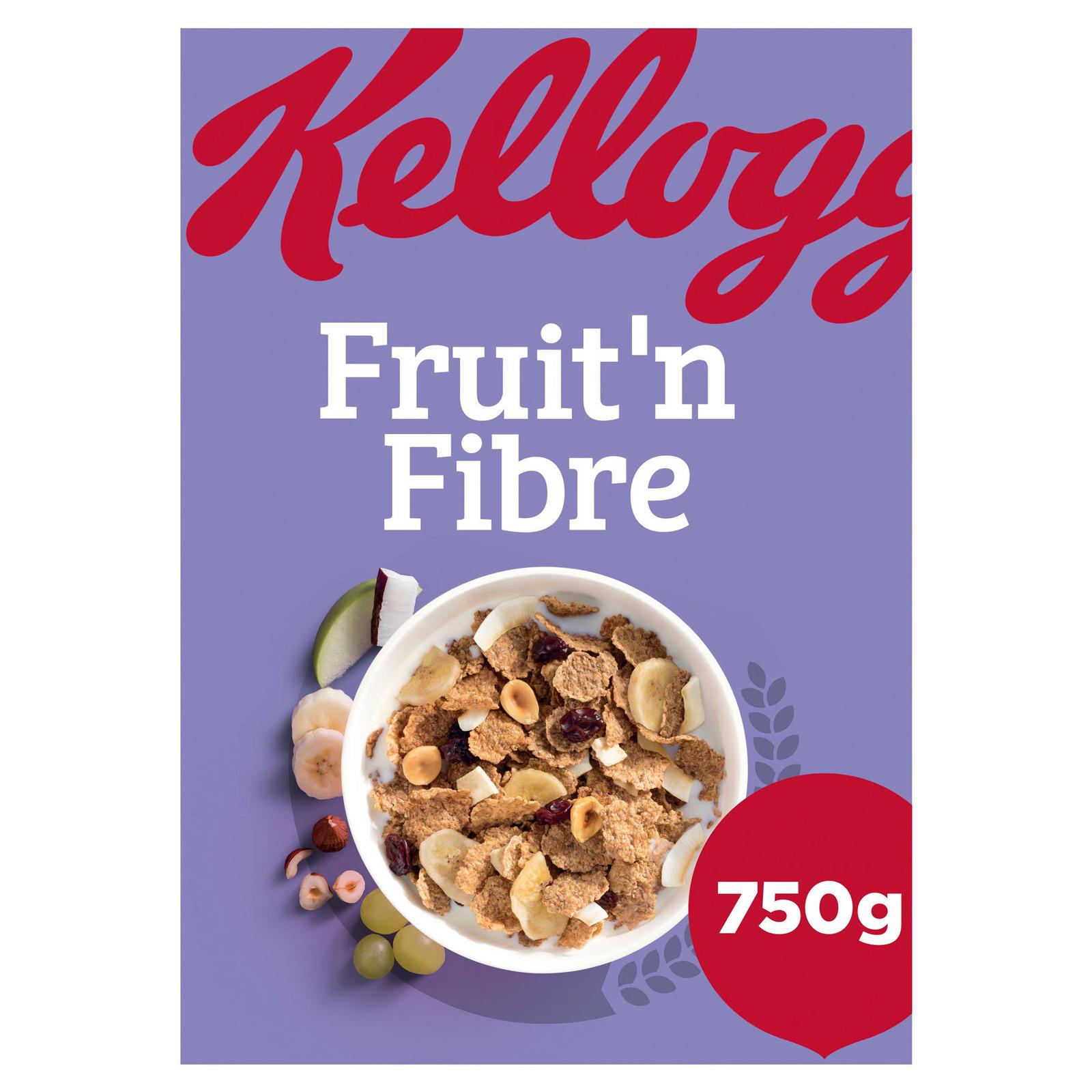 Kellogg's Fruit 'n Fibre Cereal 750g