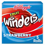 Kellogg's Fruit Winders Strawberry Snack 5 x 17g