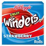 Kellogg's Fruit Winders Strawberry Snack 5 x 17g