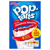 Kellogg's Pop Tarts Frosted Strawberry Sensation 8 x 50g