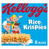 Kellogg's Rice Krispies Cereal Bars 6 x 20g (120g)