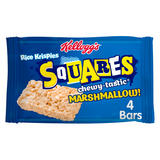 Kellogg's Rice Krispies Squares Marshmallow Snack Bar, 28g (Pack of 4)