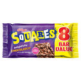 Kellogg's Squares Totally Chocolatey Cereal Bars 8 x 36g