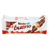 Kinder Bueno Milk and Hazelnuts 3 x 43g (129g)