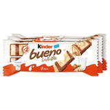 Kinder Bueno White Chocolate and Hazelnuts Multipack 3 x 39g (117g)