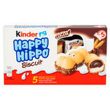 Kinder Happy Hippo Chocolate Cream Biscuits Multipack 5 x 20.7g (103g)