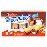 Kinder Happy Hippo Cocoa Chocolate Cream Biscuits Multipack 5 x 20.7g (103g)