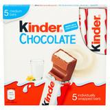 Kinder Medium Chocolate Multipack Bars 5 x 21g (105g)