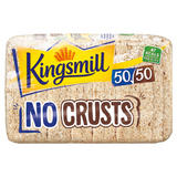 Kingsmill No Crusts 50/50 Bread 400g