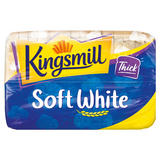 Kingsmill Soft White Bread Thick 800g