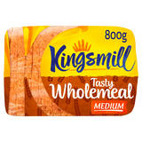 Kingsmill Tasty Wholemeal Bread Medium 800g