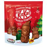 KitKat Festive Friends Milk Chocolate Sharing Bag 220g
