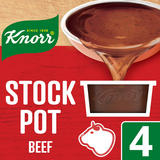 Knorr Beef Stock Pot 4 x 28 g