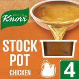 Knorr Chicken Stock Pot 4 x 28 g