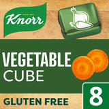 Knorr Vegetable Stock cubes 8 x 10 g