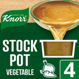 Knorr Vegetable Stock Pot 4 x 28 g