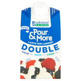 Lakeland Dairies Pour & More Double Cream 250ml