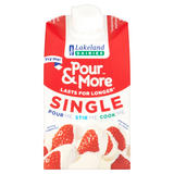 Lakeland Dairies Pour & More Single Cream 250ml