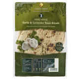 Leicester Bakery Large Garlic & Coriander Naan Bread 400g