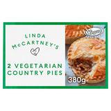 Linda McCartney's 2 Vegetarian Country Pies 380g