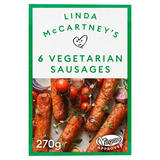 Linda McCartney's 6 Vegetarian Sausages 270g