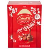 Lindt Milk Chocolate Easter Egg with LINDOR Milk Truffles 133g