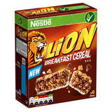 Lion Breakfast Cereal Bars 6 x 25g (150g)