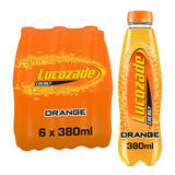 Lucozade Energy Orange 6 x 380ml Multipack